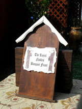 Medieval Bavarian Style Menu Wood Plaque - Vint... - $45.00