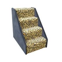 Animal Stuff Bear Stairs 4 Step Dog Steps - Grey 961-DSTAIRS4GR - $245.12