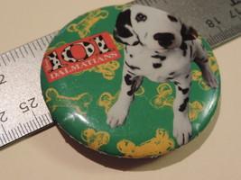 "101 Dalmations puppy 2.25"" Novelty Button B1B - $5.05"