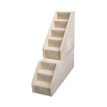 Animal Stuff Bear Stairs Mini 8 Step Dog Steps - Grey 961-MINI8GR - $351.90