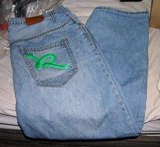 Mens Roccawear blue jeans size 40 X 30 Loose fit - $14.00