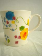 Starbucks Spring Floral Flowers Coffee Mug Cup 2006 12 Oz. Yellow, Blue,... - $12.73