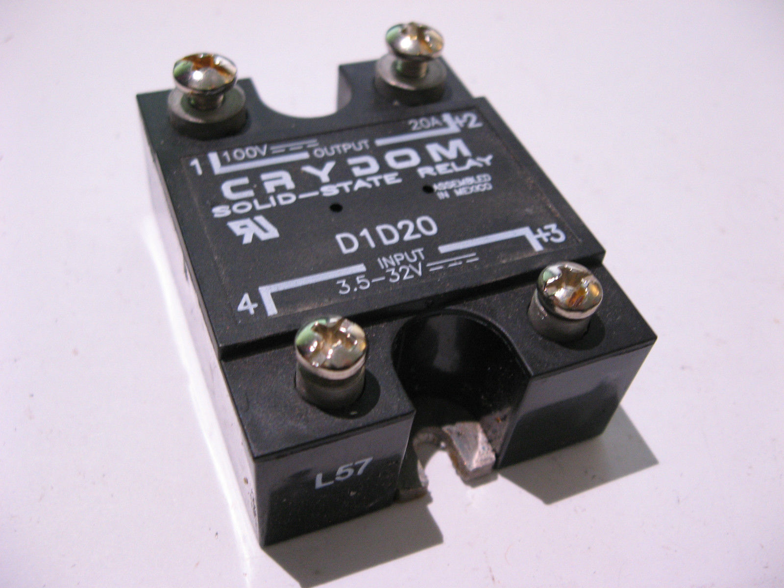 qty 1 solid state relay ssr crydom model and 50 similar items rh bonanza com Power Relay Relay Manufacturers