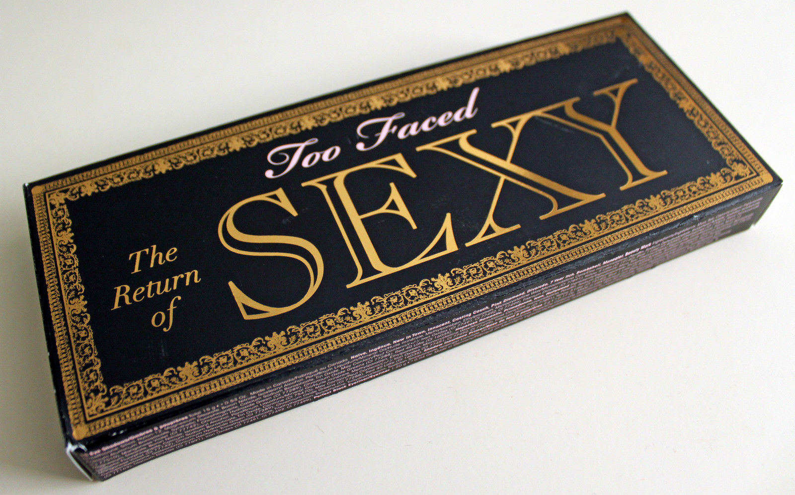 TOO FACED The Return Of Sexy Eye Shadow Palette 15 Shades Sephora Collection