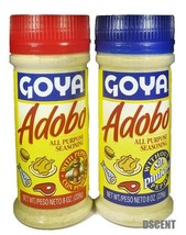 2Pack Goya Adobo All Purpose Seasoning 1 with Pepper, 1 Without Pepper 8... - $11.87