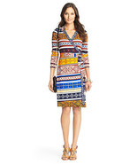 Diane Von Furstenberg New Jeanne wrap dress size 8 - $279.99