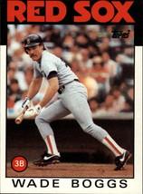 1986 Topps Wade Boggs #510 Boston Red Sox (EX) Baseball Card - $0.69