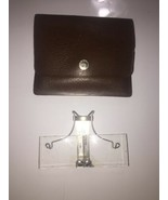 Edroy Opticaid Clip-On Flip-Up Magnifier rare Vintage The Glass has crack - $37.39