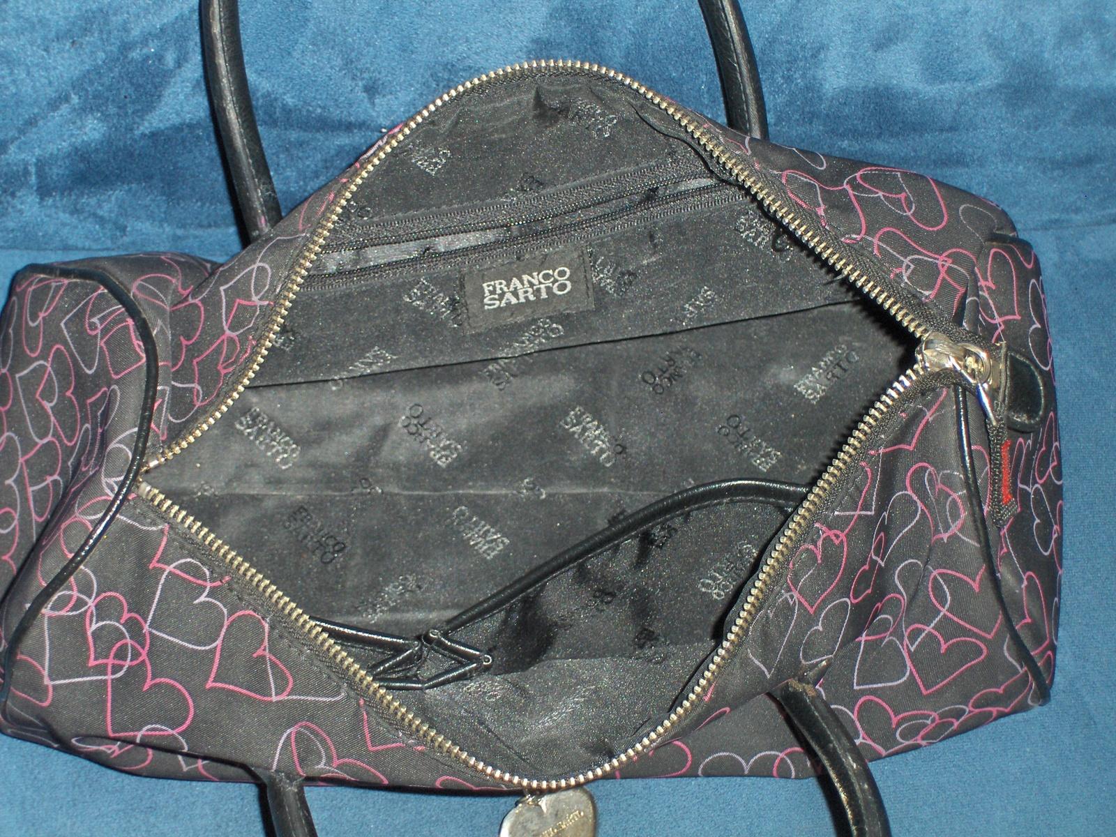 Franco Sarto Hearts Handbag Purse