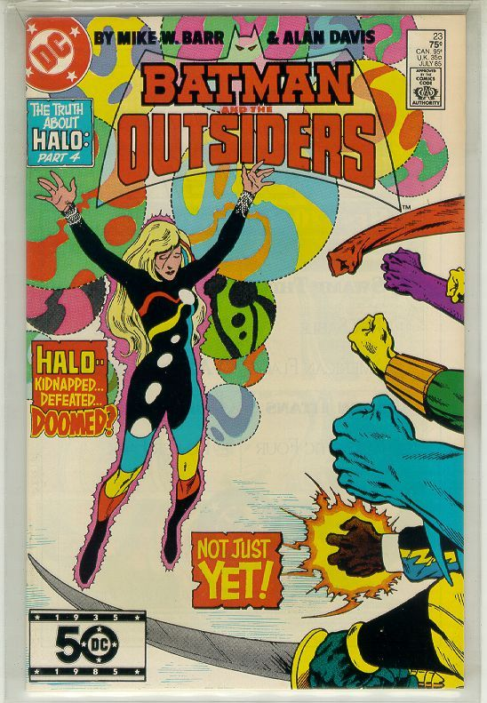 Batman and the outsiders  23nm