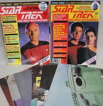 Star Trek The Next Generation Magazines w/Posters Lot of 2 1987-88 - $4.95