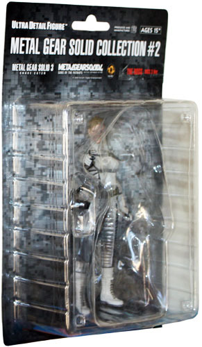 Metal Gear Solid 3: The Boss UDF Action Figure Brand NEW!