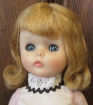 "Vintage VOGUE Doll Family MISS GINNY vinyl blonde Doll dressed 15"" - $64.99"