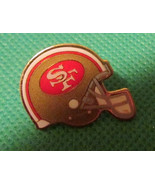 "1994 NFL San Fransisco 49ERS football helmet pinback lapel PIN 1"" - $31.99"