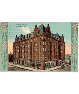 The Nelson House Rockford Illinois 1913 Vintage Post Card - $5.00