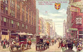 Chicago State Street Traffic 1910 Vintage Post Card - $6.00