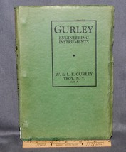 FABULOUS 1936 GURLEY ENGINEERING EQUIP CATALOG, TRANSITS, LEVELS, RODS, ... - $108.90