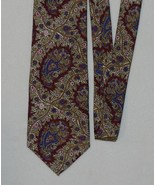 Pattinni Burgundy Paisley Print Tie - $5.99