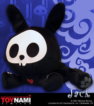 "Skelanimals Jack Mini 5"" Plush Brand NEW! - $39.99"