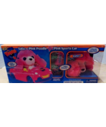 The Happys Lulu the Pink Poodle + Pink Sports Car Plays with You Dances ... - $21.99