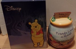 Winnie the Pooh Friends Lend a Hand Cookie Jar Eeyore Christopher Robin NEW - $49.99