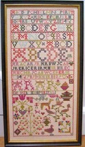AR 1829 Antique Sampler Reproduction cross stitch chart Samplers Revisited - $16.00