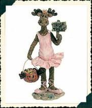 "Boyds Moose Troop ""Ilona Mooseltoes...Trick or Treat"" #36907- NIB- 2002 - $29.99"