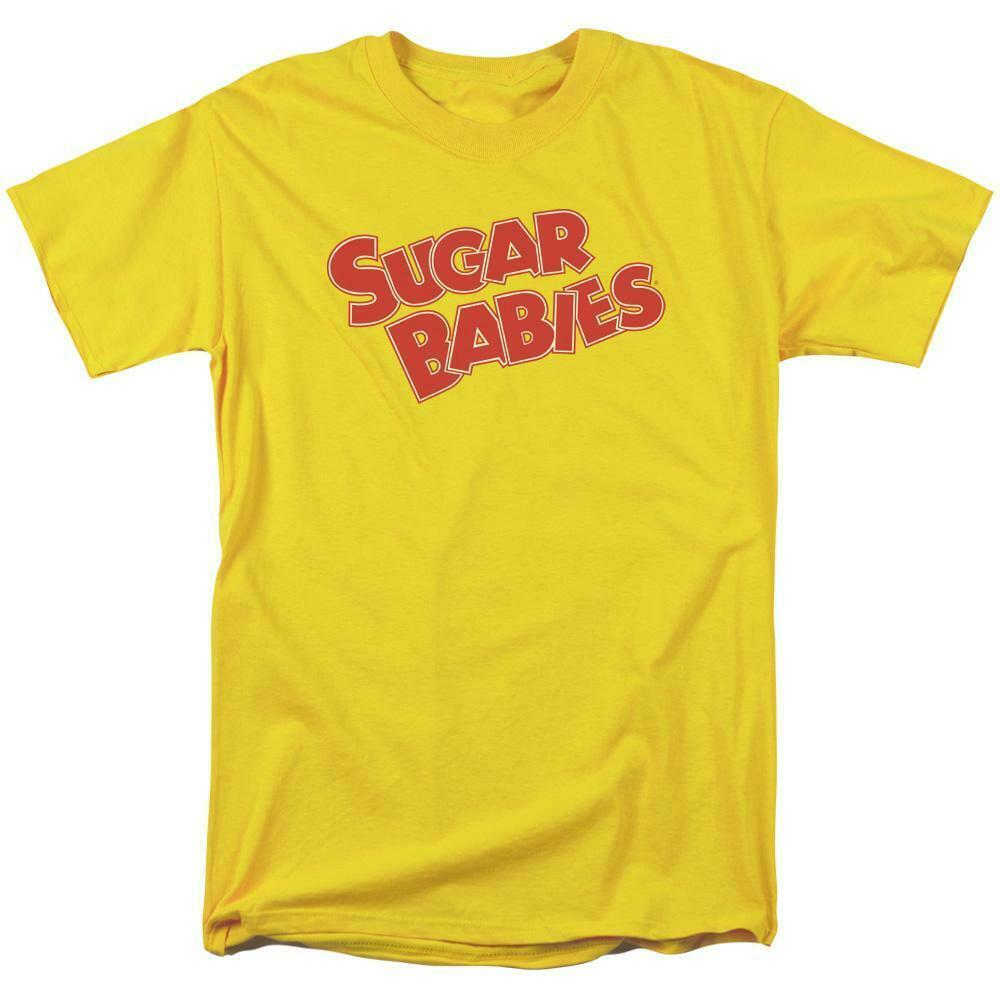 Sugar Babies logo t-shirt tootsie roll retro 80's candy graphic tee TR114