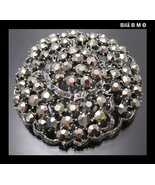 Albert WEISS signed Vintage Rhinestone  BROOCH Pin - with original BOX - $175.00