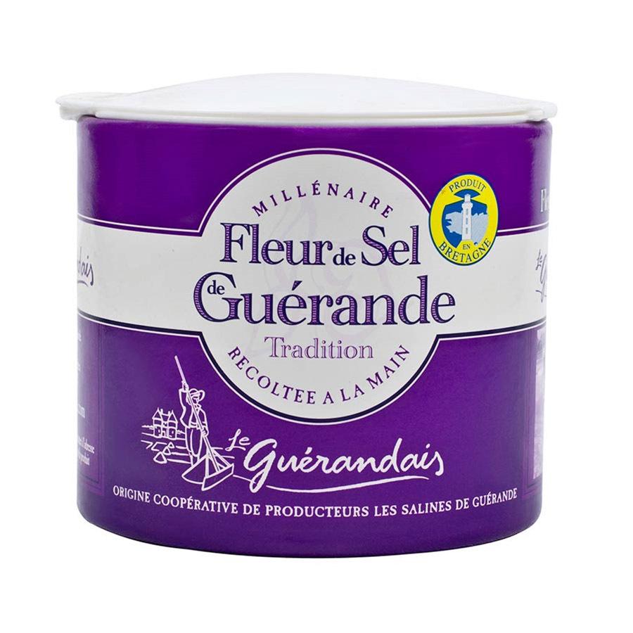 Fleur de Sel de Guerande (Sea Salt) - 1 container - 4.4 oz
