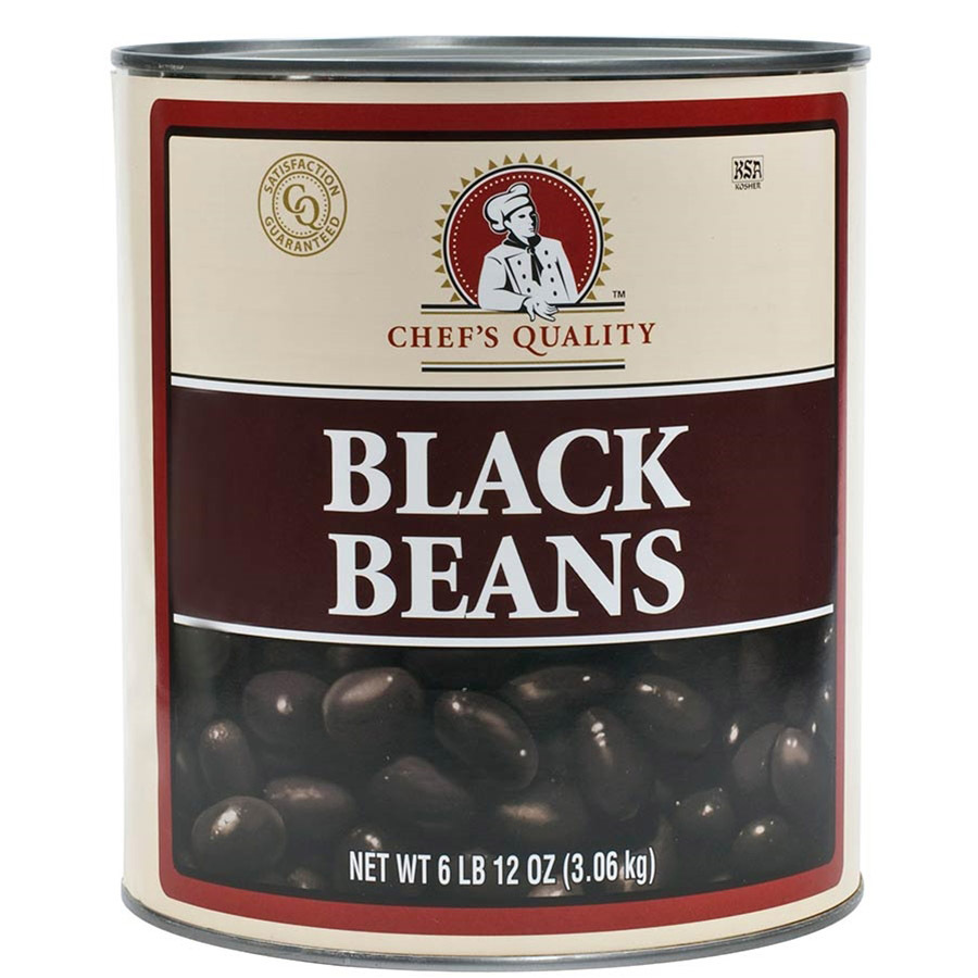 Black Beans - 1 can - 6.75 lbs