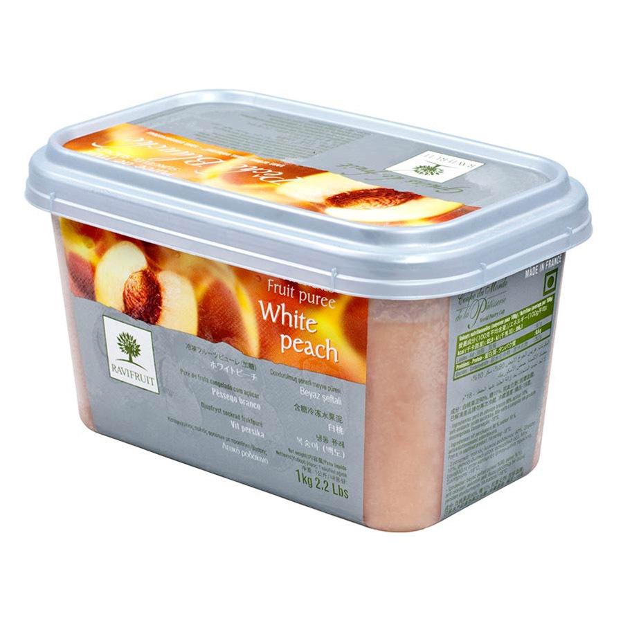 White Peach Puree - 1 tub - 2.2 lbs