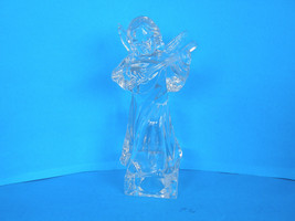 MIKASA LEAD CRYSTAL HERALD COLECTION ANGEL PLAYING THE MANDOLIN - ORIGIN... - $20.56