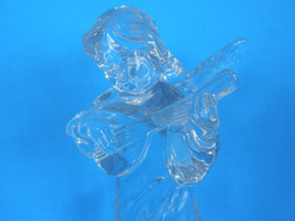 MIKASA LEAD CRYSTAL HERALD COLECTION ANGEL PLAYING THE MANDOLIN - ORIGINAL TAGS image 3