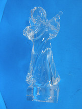 MIKASA LEAD CRYSTAL HERALD COLECTION ANGEL PLAYING THE MANDOLIN - ORIGINAL TAGS image 6