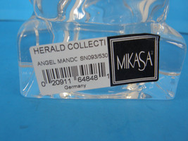 MIKASA LEAD CRYSTAL HERALD COLECTION ANGEL PLAYING THE MANDOLIN - ORIGINAL TAGS image 9