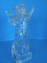 MIKASA LEAD CRYSTAL HERALD COLECTION ANGEL PLAYING THE MANDOLIN - ORIGINAL TAGS image 8