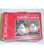 New  Short Santa Clause Salt and Pepper Shaker Set, Ceramic - $5.95