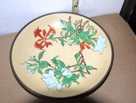 "Vintage Japanese Porcelain Ware Decorative 7"" Plate w/Floral Pattern on ... - $14.84"