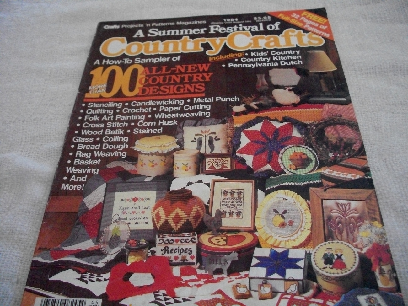 Primary image for A Summer Festival of Country Crafts 1984 Magazine