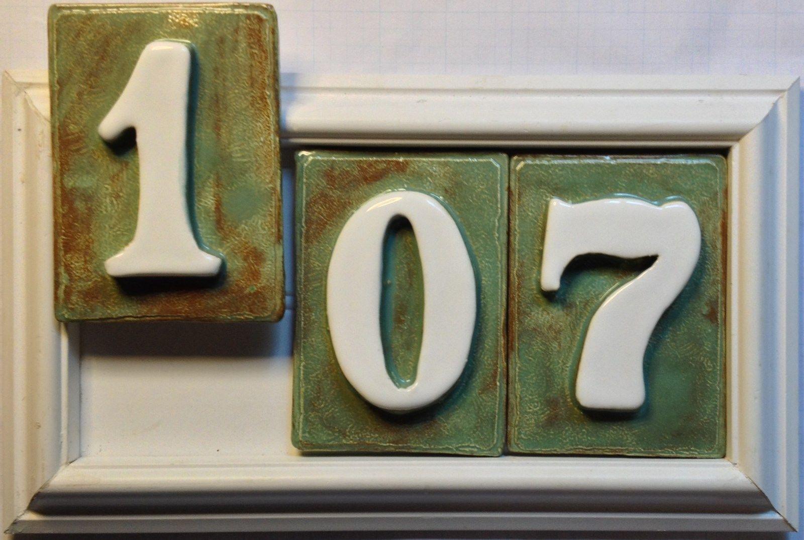 house address number plaque pvc weatherproof frame 3 number model plaques signs. Black Bedroom Furniture Sets. Home Design Ideas