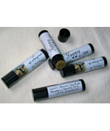 Happy Lips-wintergreen lip balm, all natural by Jewel Soap, beeswax, vit... - $3.00