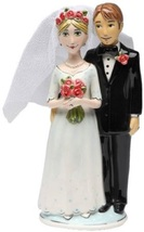 Appletree Design Bride and Groom Cake Topper, 7-3/8-Inch - $39.95