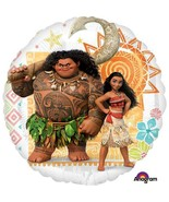 """Moana Round Foil Mylar Balloon 1 Per Package Birthday Party Supplies 18""""... - $2.23"""
