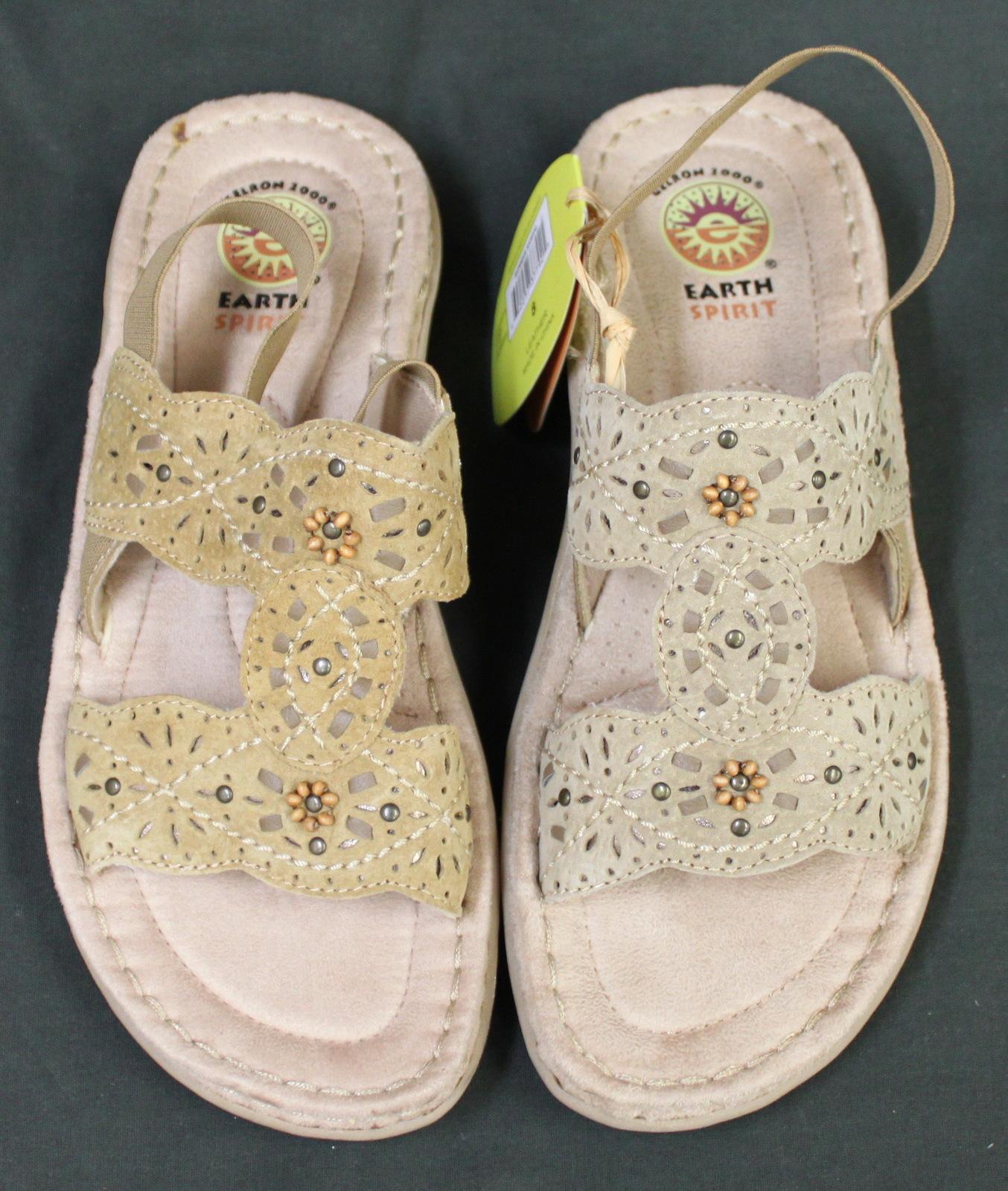 Womens Earth Spirit Leather Sandals Gelron 2000 - Sandals  Flip Flops-8432