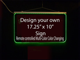 Personalized LED Sign, Design Your own Sign, Man Cave, Wedding, Bar Sign image 2
