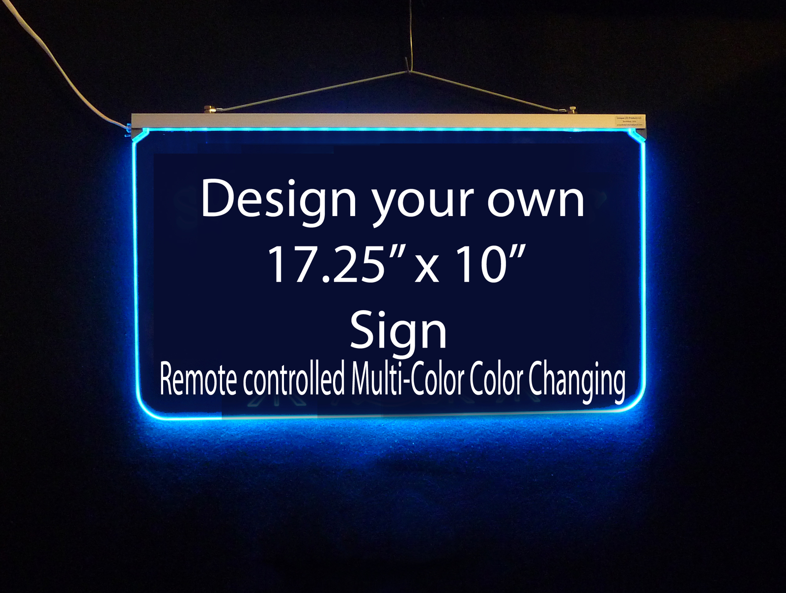 Personalized LED Sign, Design Your own Sign, Man Cave, Wedding, Bar Sign
