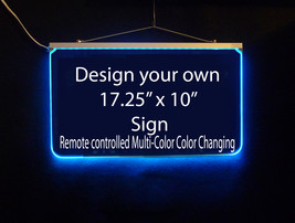 Personalized LED Sign, Design Your own Sign, Man Cave, Wedding, Bar Sign image 3