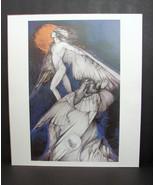 Icarus And Daedelus Susan Seddon Boulet Print Art 1990 American Indian Spiritual - $14.99