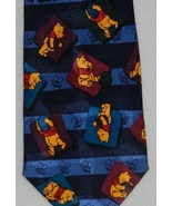 Disney Winnie the Pooh Mens Dark Blue Necktie - $5.99